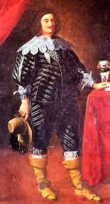 look book time line 1600s 2000s a man dressed