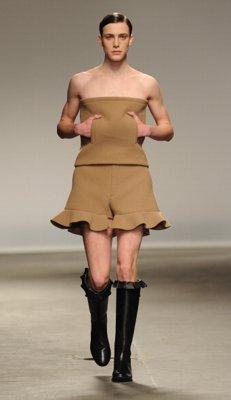 No future for men fashion in this scene
