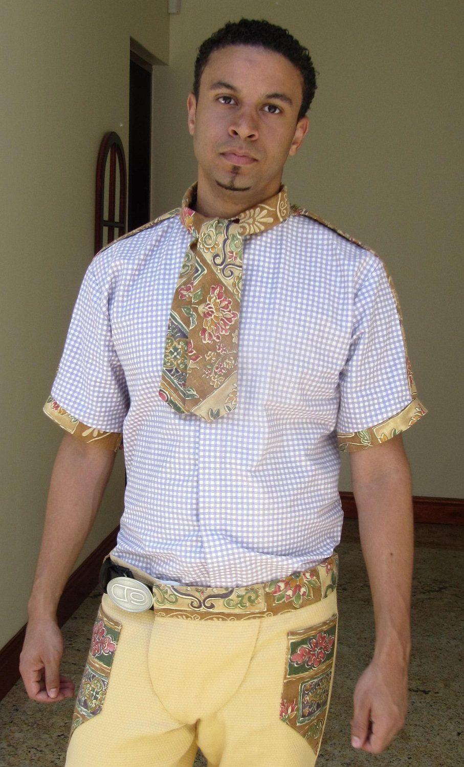 A Man Dressed